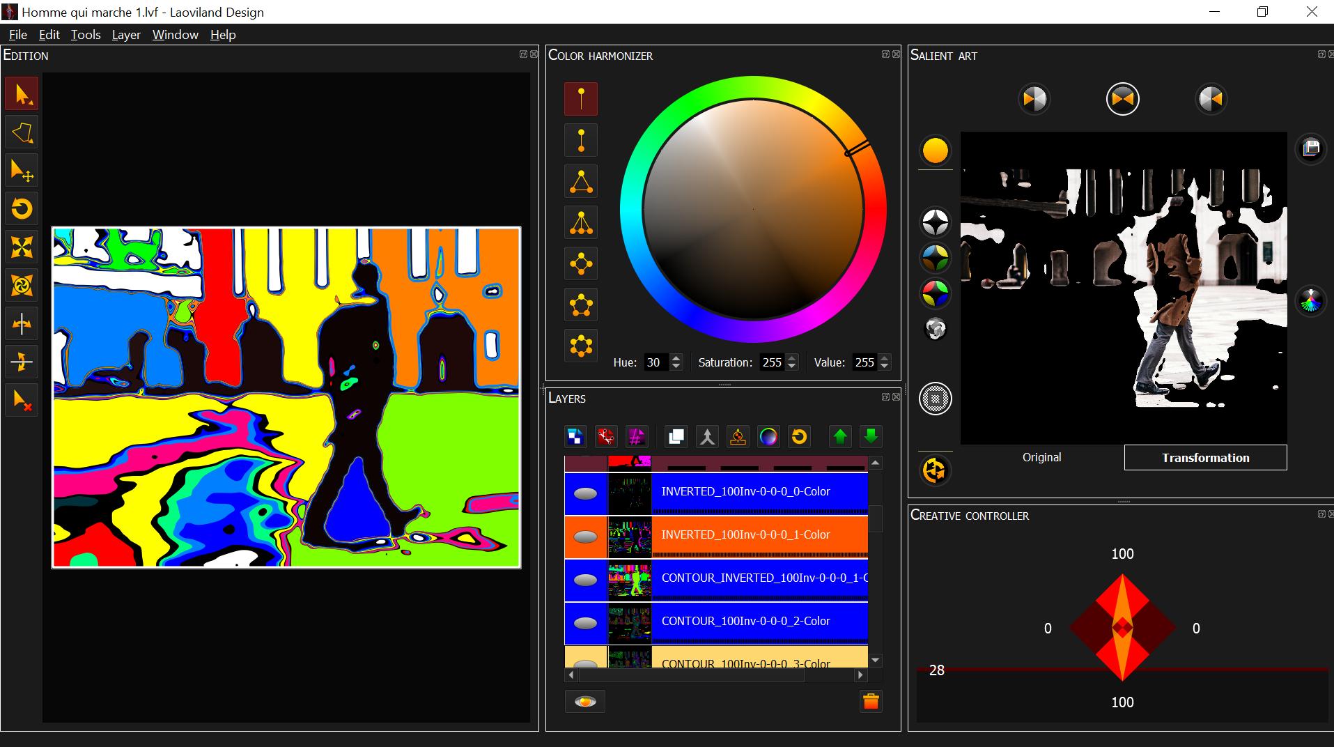 Avis Laoviland Salient Design : Révolutionnez vos usages créatifs sans CopyRight ! - appvizer