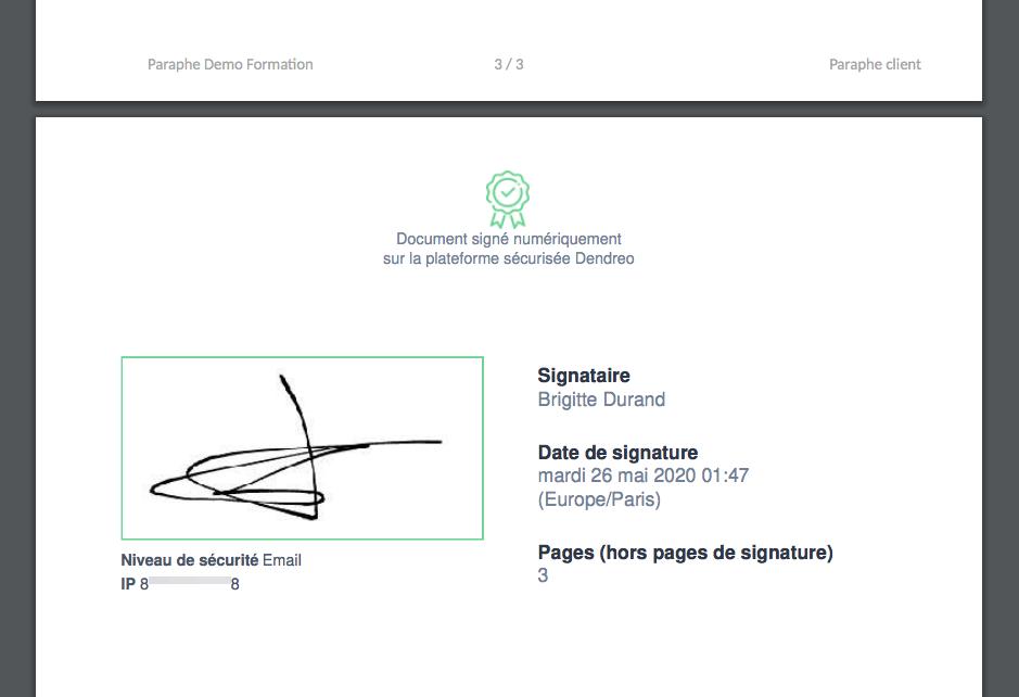 Dendreo-signature