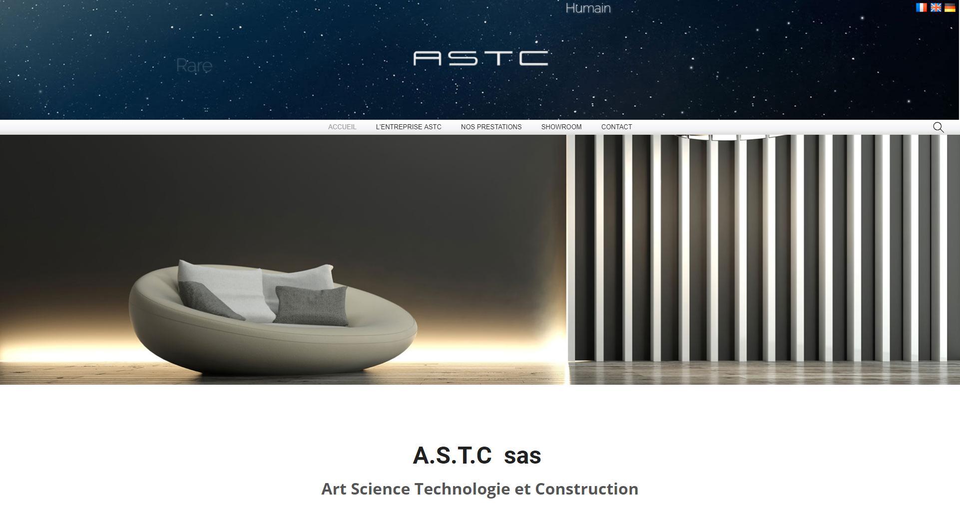 Site web client ASTC - Wstudio