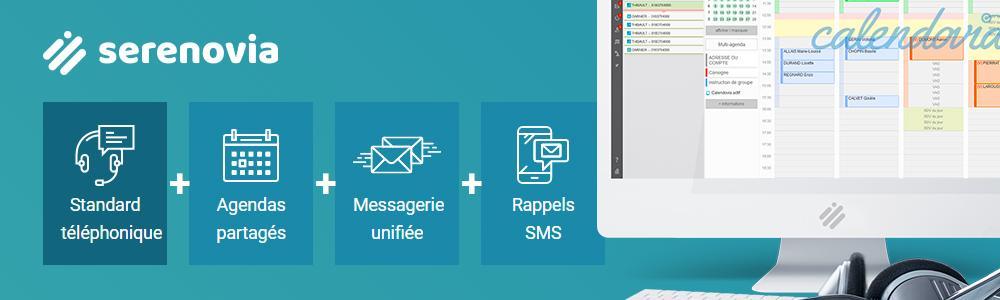 Avis Serenovia : Solutions pour permanences téléphoniques / centres d'appels - Appvizer