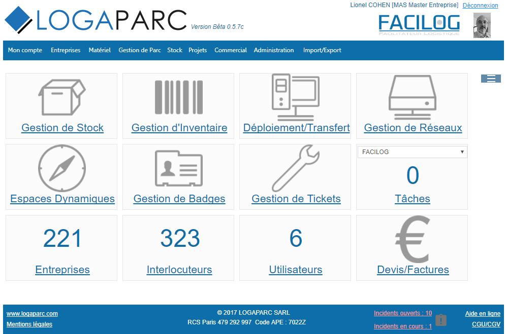 Vous pouvez accéder à vos informations et à celles de vos clients, partenaires ou fournisseurs avec un simple navigateur.
