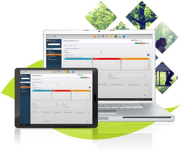 Le logiciel SymaleaN s'adapte à tous les supports (Ordinateur, Tablette, Smartphone)