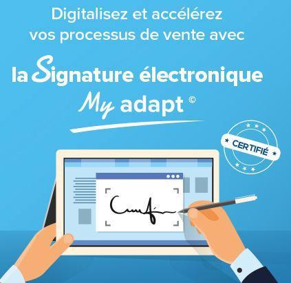 Découvrez la signature électronique dans le logiciel immobilier My Adapt