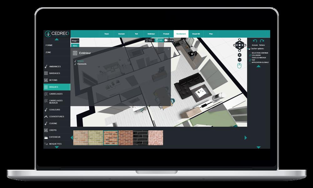 Aménagez l'intérieur et l'extérieur de votre maison en 3D