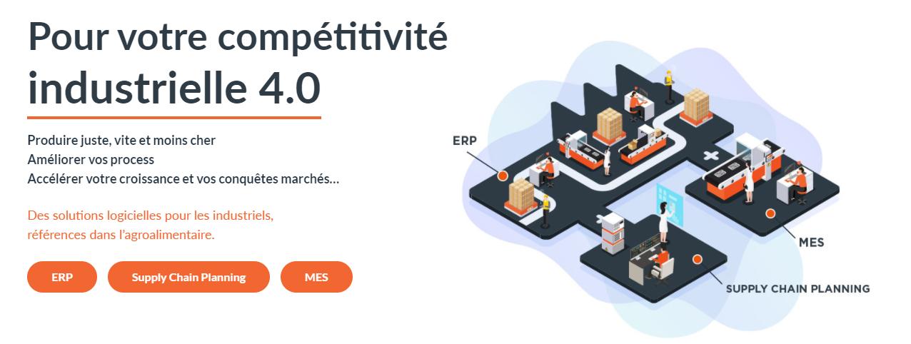 Avis Suites MES & SCP : Logiciels MES & Supply Chain Planning pour ETI industrielles - appvizer