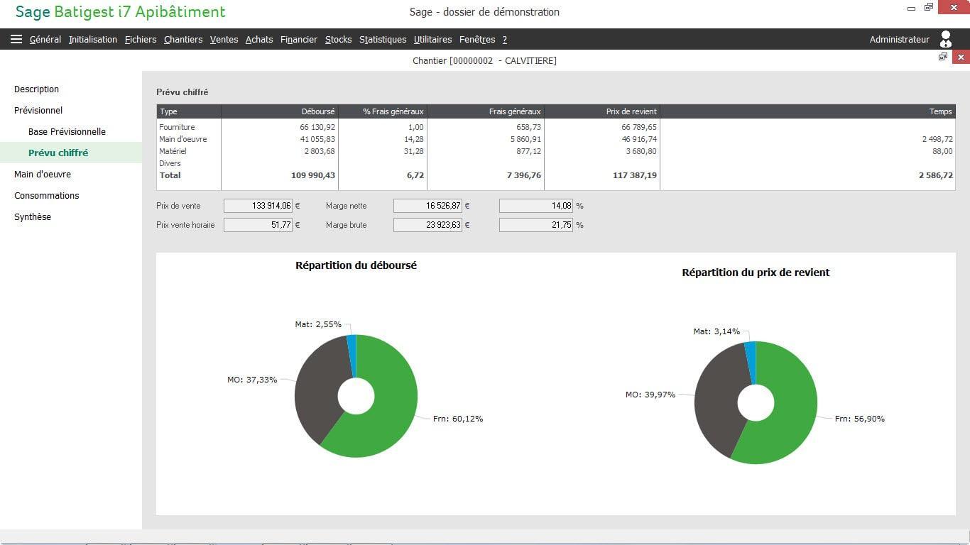 Avis Sage Batigest Connect : Logiciel de gestion BTP pour TPE & PME - Appvizer