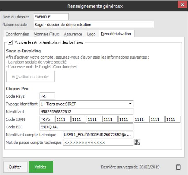 Factures dématérialisées en 2 clics et connexion avec le portail Chorus Pro
