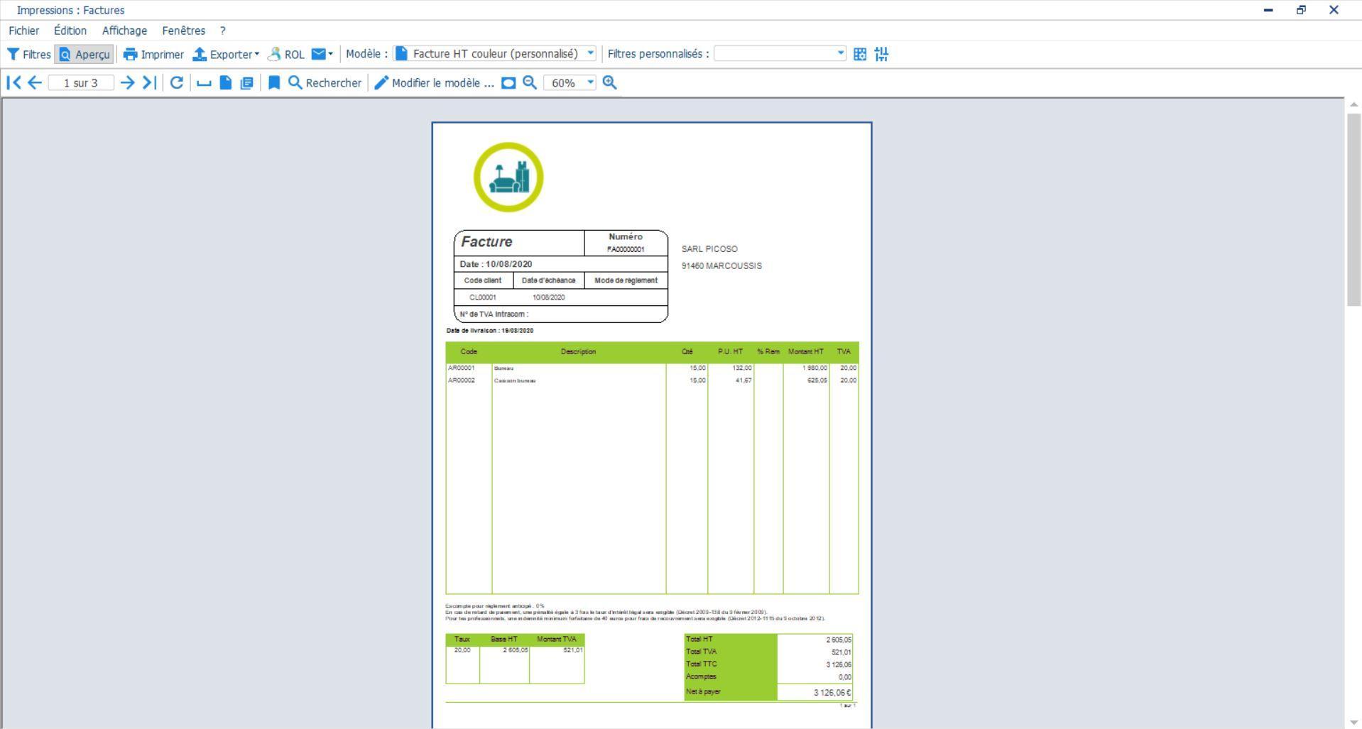 Personnalisez vos devis et factures avec les logiciels en ligne EBP Gestion Commerciale