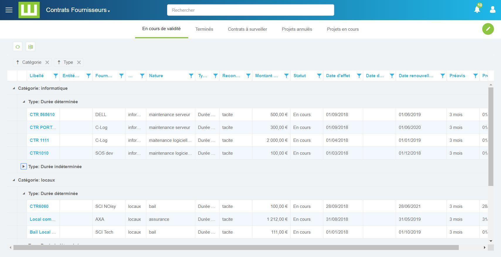 Avis Workey Contract Management : Logiciel de gestion et de suivi des contrats - Appvizer