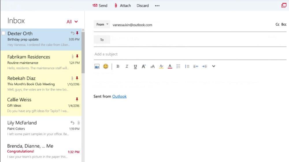 Ecrire un Email avec Outlook