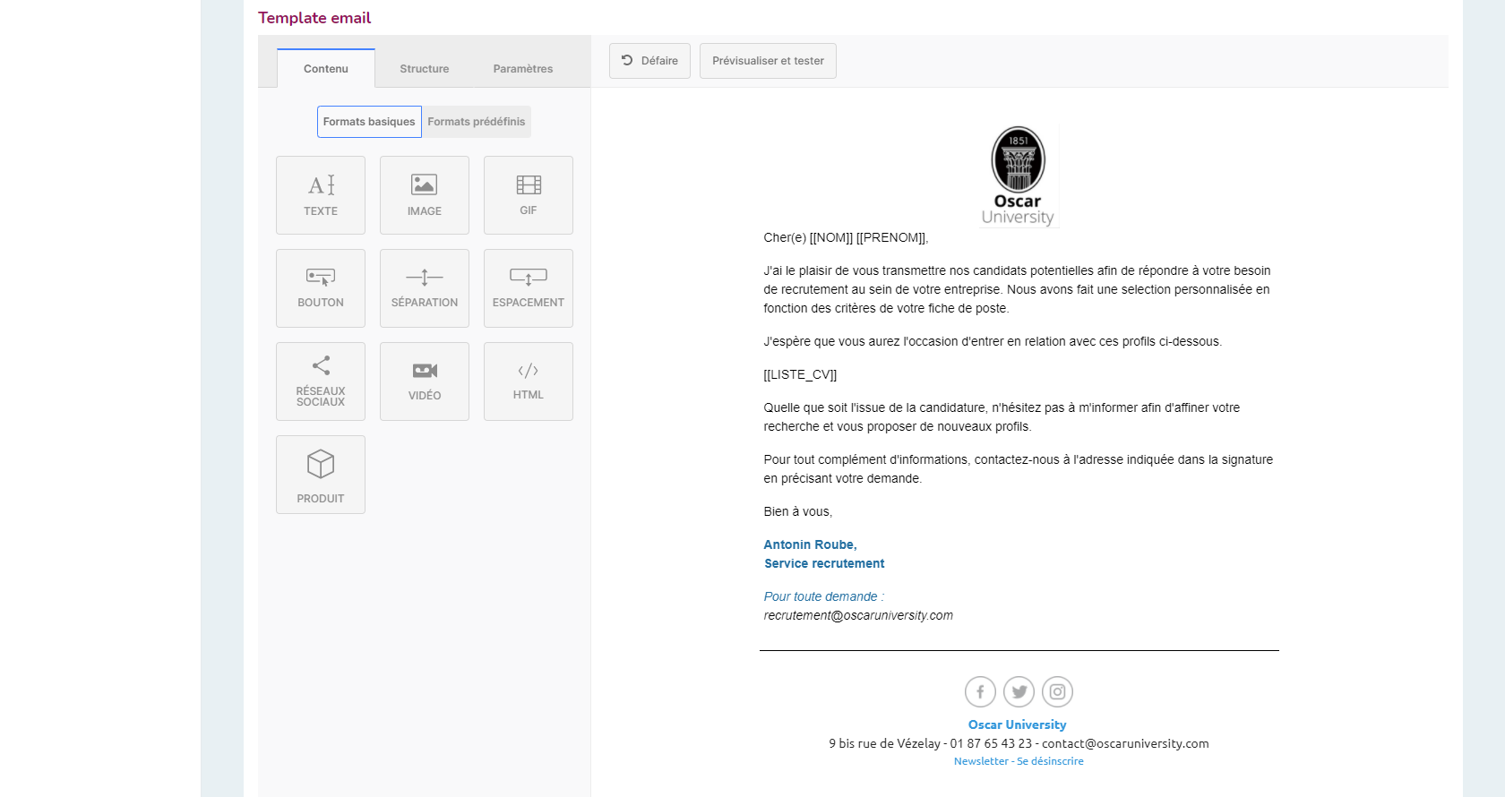 Conception d'emailings