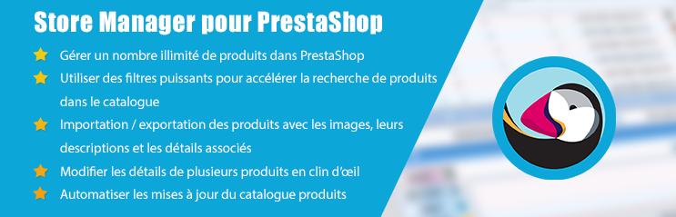 Avis Store Manager pour PrestaShop : La solution qui vous aide à gérer facilement votre boutique - appvizer