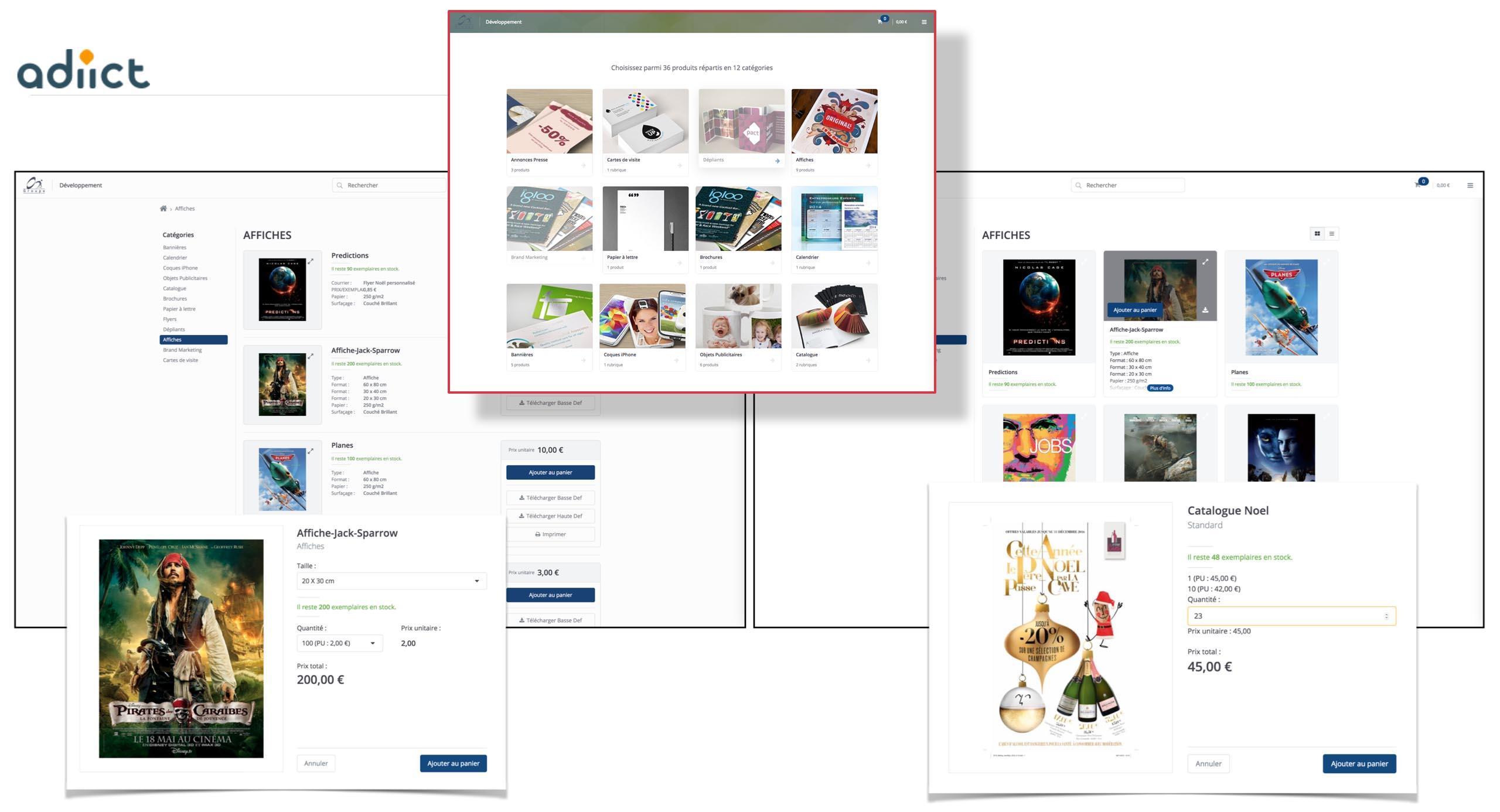Un site marchand pour diffuser et personnaliser les documents centralisés dans le DAM