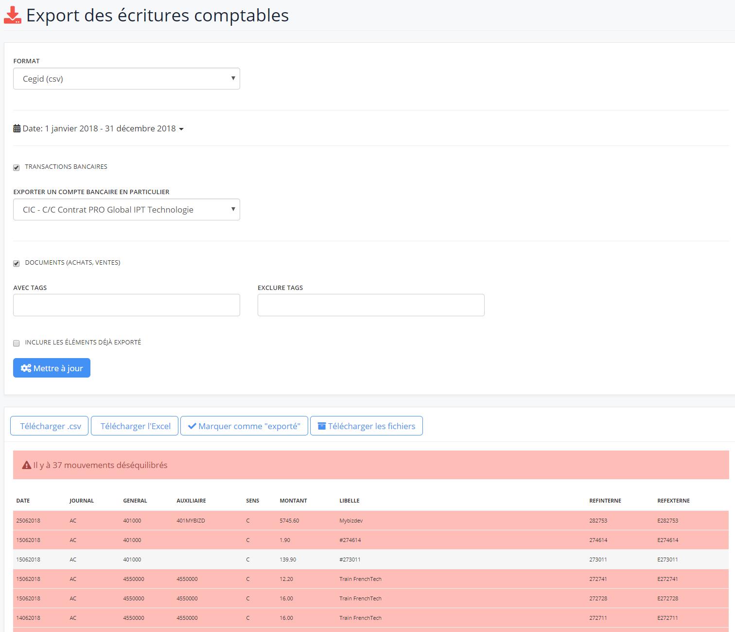 IPaidThat Expert-Comptable-export