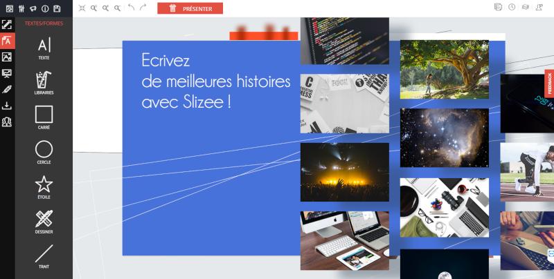 Avis Slizee : Editeur de présentations, bannières, reporting et print - Appvizer