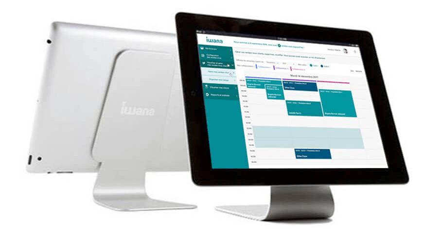 Nous proposons également des équipements type iPad et support pour votre établissement