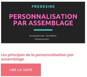 Personnalisation par assemblage