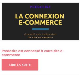 La connexion e-commerce