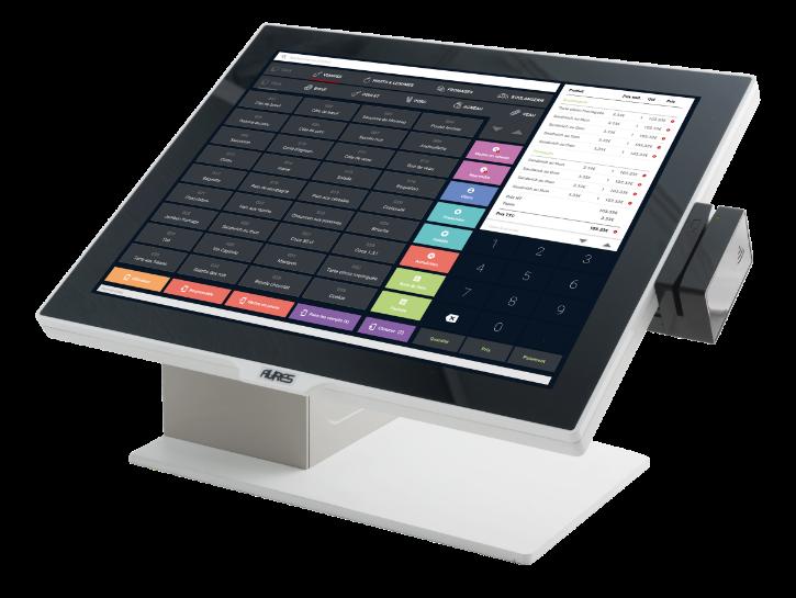 We'r Caisse, une caisse connectée, moderne, intuitive et 100% personnalisable