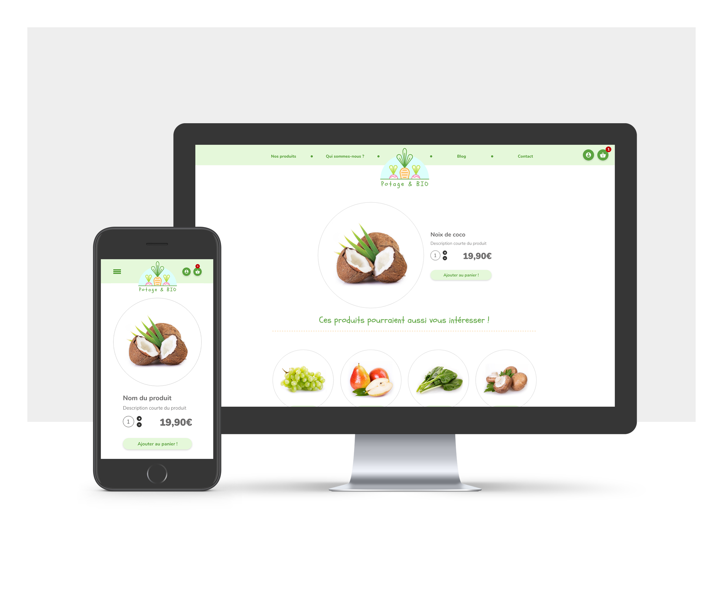 We'r Web, un site e-commerce complet