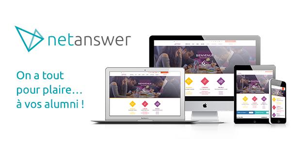Avis NetAnswer : Plateforme de gestion de communautés alumni - appvizer