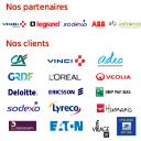 Voici un aperçu de nos clients et partenaires, principalement membres du CAC40 dans tout secteur d'activité donné.
