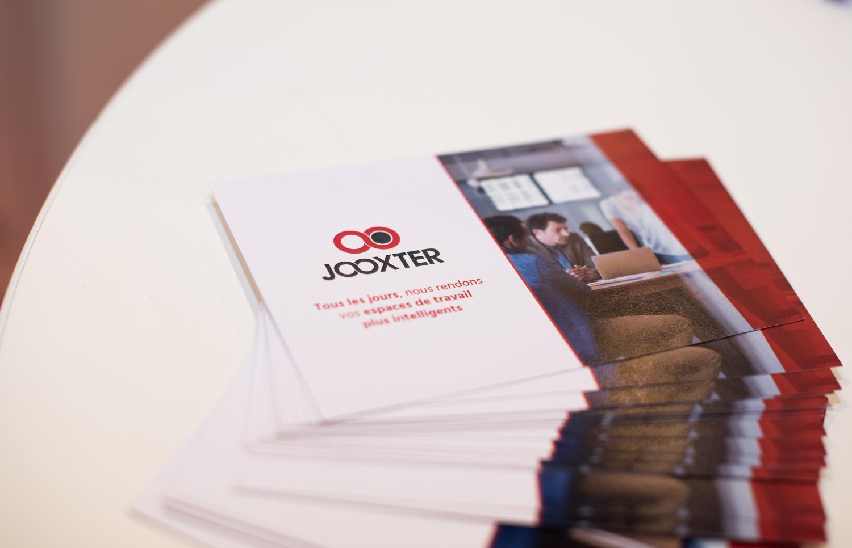 Jooxter est leader dans l'analyse de l'occupation, et permet de réduire les coûts liés aux espaces de travail.