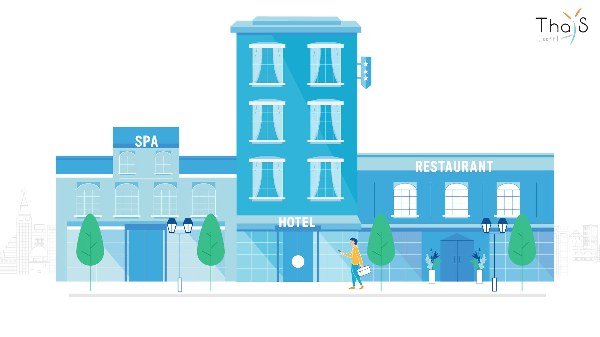 Avis Thaïs-PMS : Le logiciel de gestion spécial hôtellerie-restauration - Appvizer