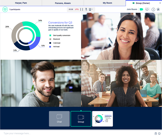 Spoka Connect - Collaboration à distance : vos réunions en ligne deviennent interactives.