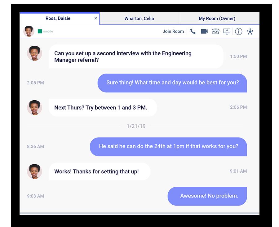 Spoka Connect - Messagerie d'équipe : communiquez rapidement et efficacement.