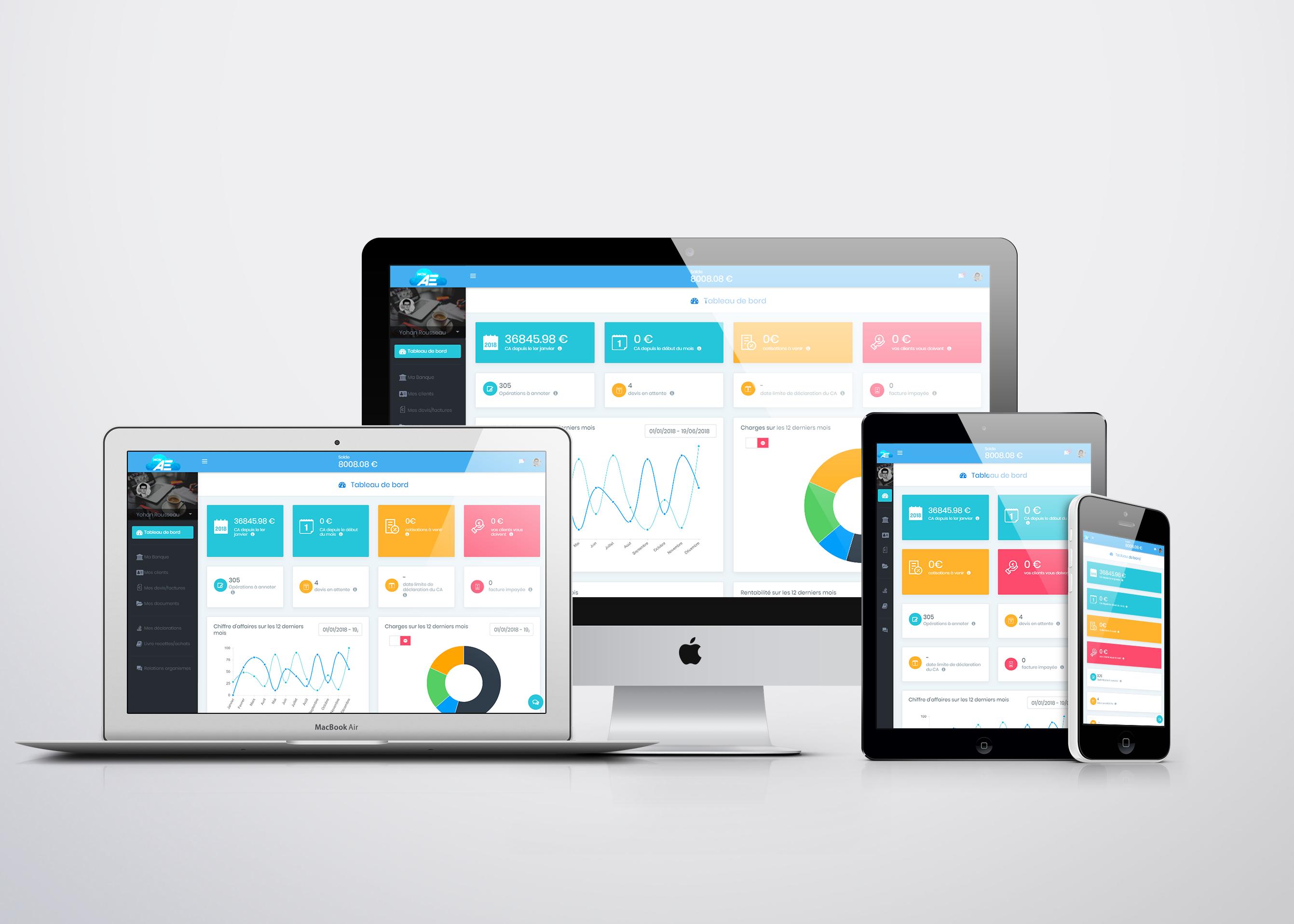 Avis MonAE : La gestion intelligente & automatisée pour Auto-Entrepreneur - appvizer