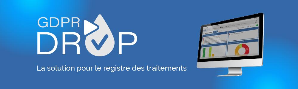 Avis GDPR Drop : La solution collaborative pour le registre des traitements - Appvizer