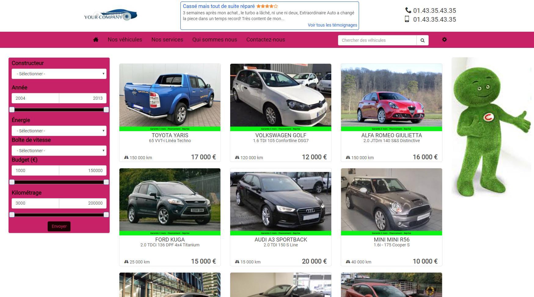 Avis Auto-Gestion : Logiciel de gestion pour négociants automobile - Appvizer