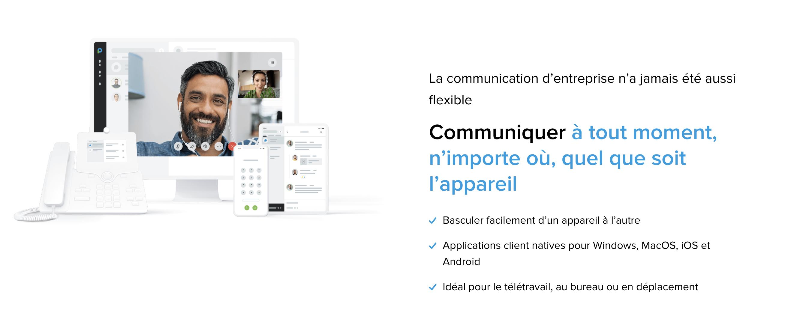 Avis Placetel : Communication tout-en-un: téléphonie, messagerie, réunions. - Appvizer
