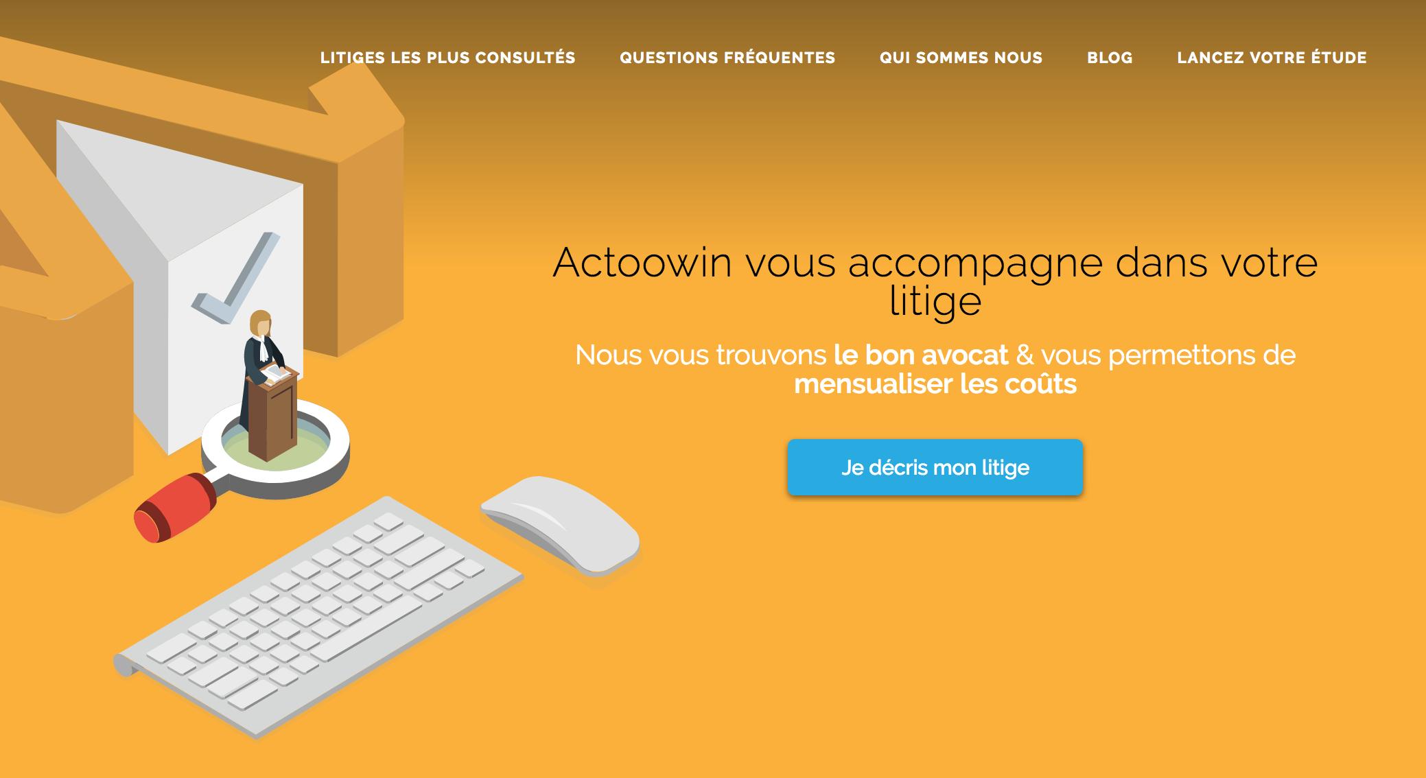 Avis Visiwin : Marketplace pour avocats dédiée à la collecte de dossiers - appvizer