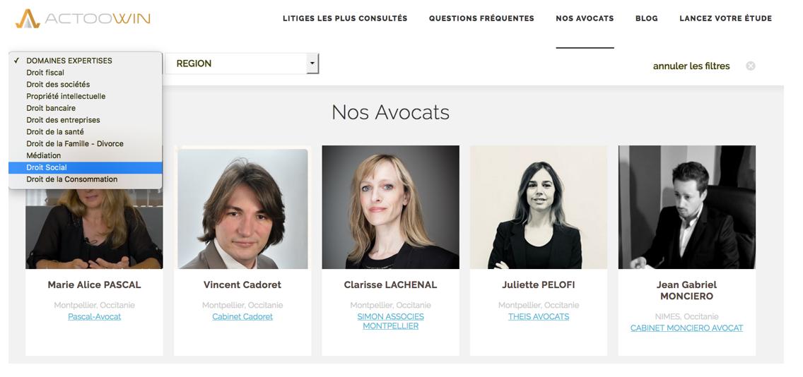 Votre profil avocat référencé sur notre plateforme à dimension nationale