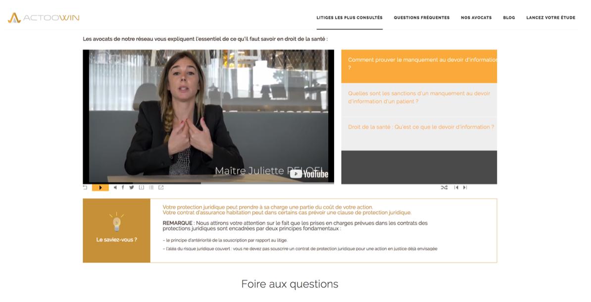Répondez au questions les plus fréquentes de vos clients via nos contenus vidéos en lignes