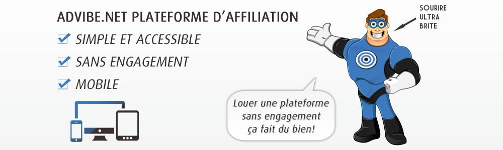 Avis adVibe.net : Plateforme d'affiliation pour annonceur indépendant - appvizer