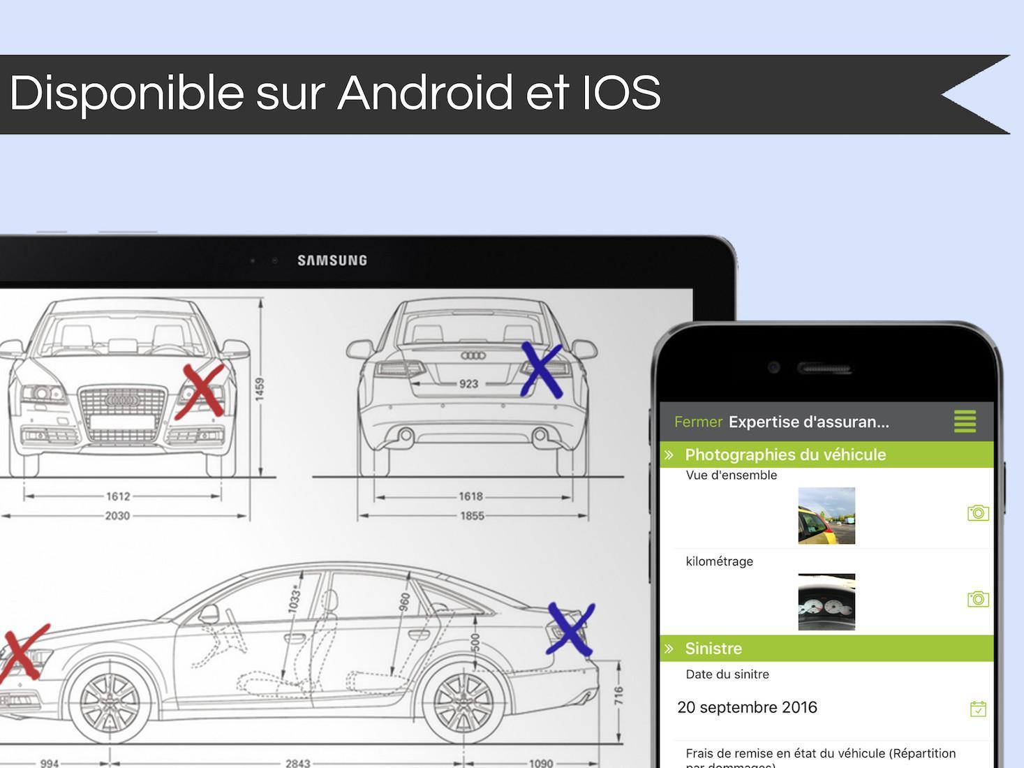 L'application Kizeo Forms est disponible pour les appareils iOS et Android.