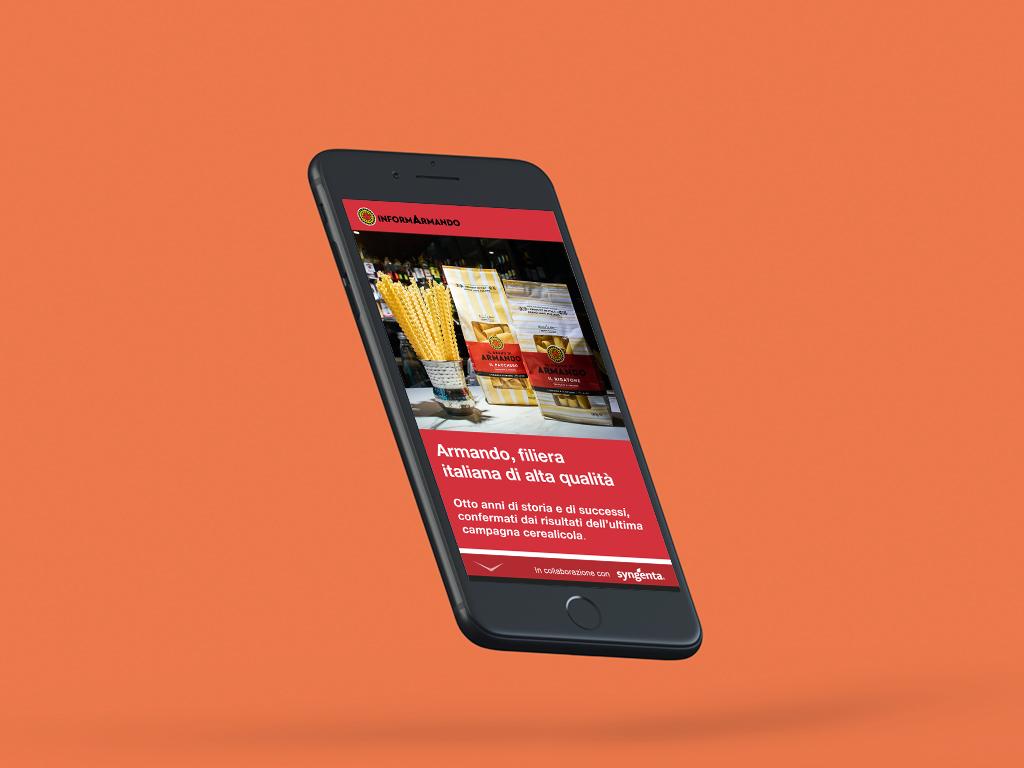 Application mobile De Matteis Agroalimentare