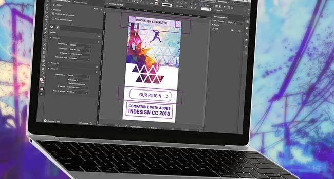 Découvrez notre plugin Rakuten Aquafadas pour Adobe InDesign CC.