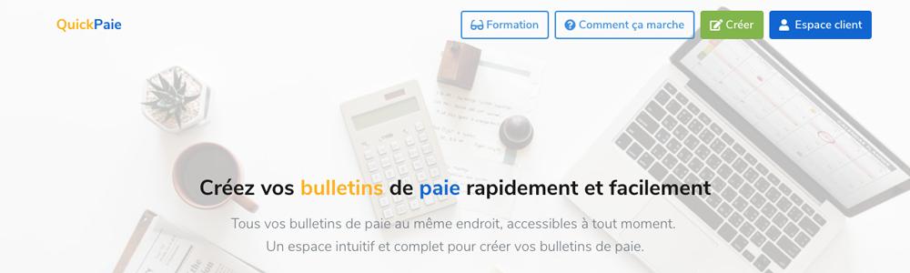 Avis QuickPaie : Créer des bulletins de paie et des fiches de paie en ligne - appvizer