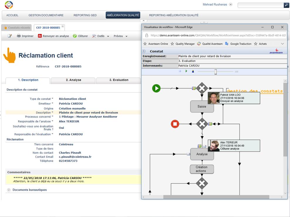 Workflow adaptable à vos règles de gestion