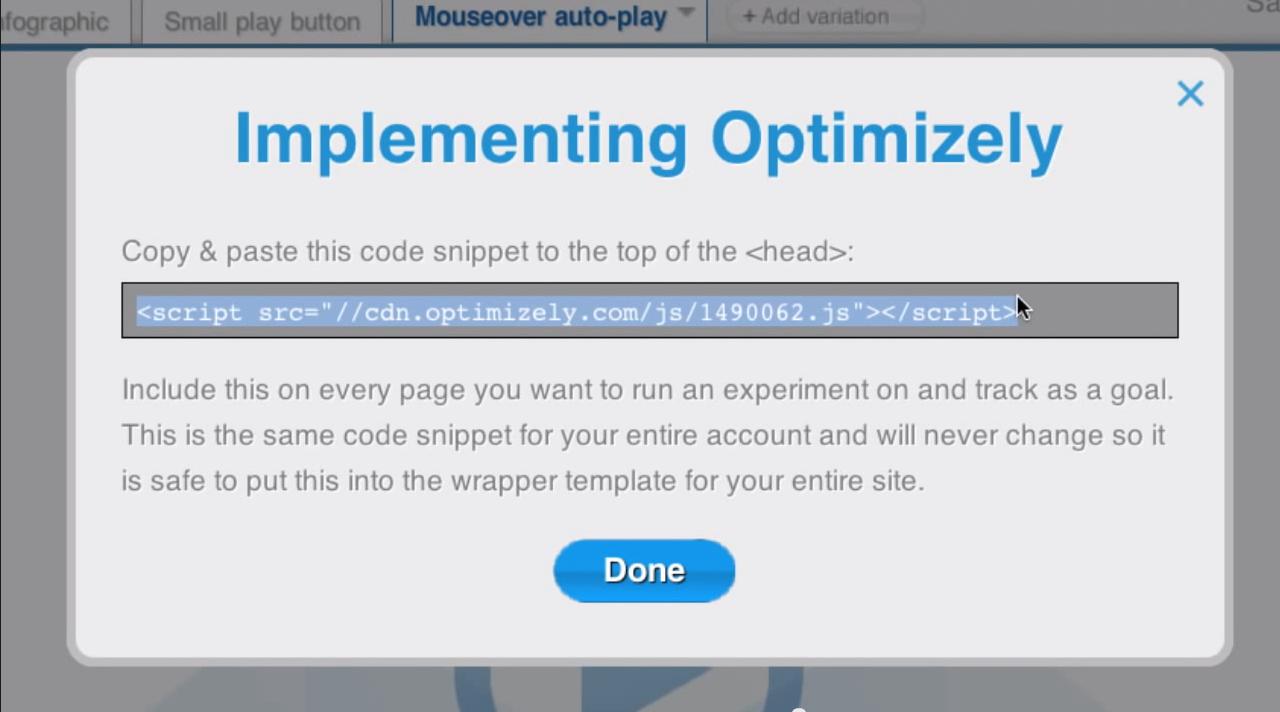 Optimizely: Formation en ligne (webinaire), Editeur graphique, Combinaisons de variantes