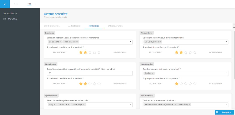 Notre plateforme mettra en avant les meilleurs profils selon vos critères, et leur résultat à notre test de vente en ligne.