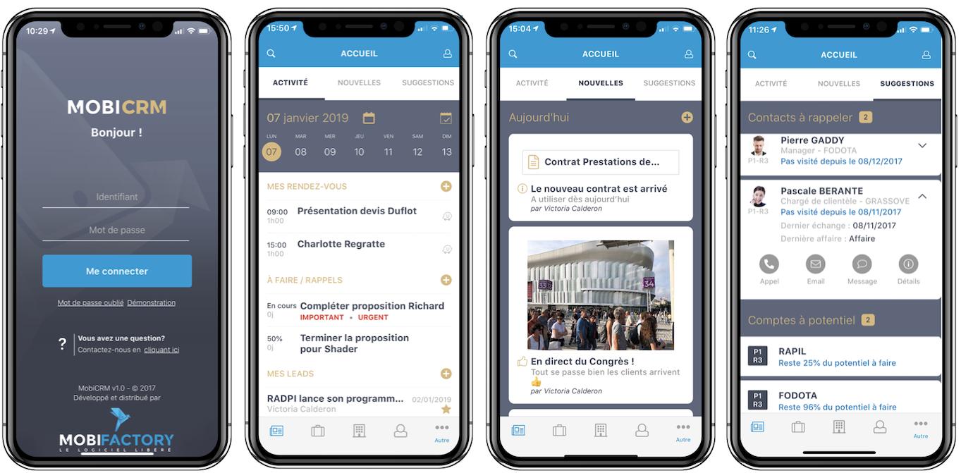 Avis MobiCRM : Le CRM mobile plébiscité par les commerciaux terrain - Appvizer