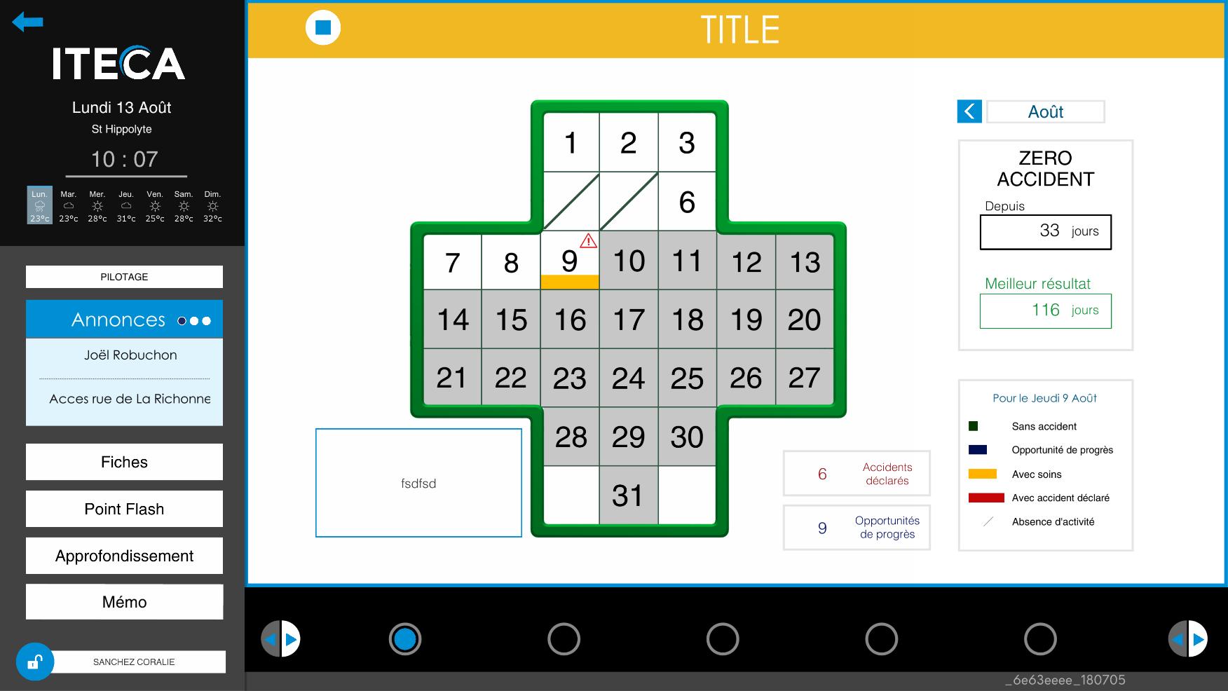 Exemple de visuel proposé dans NUMAC