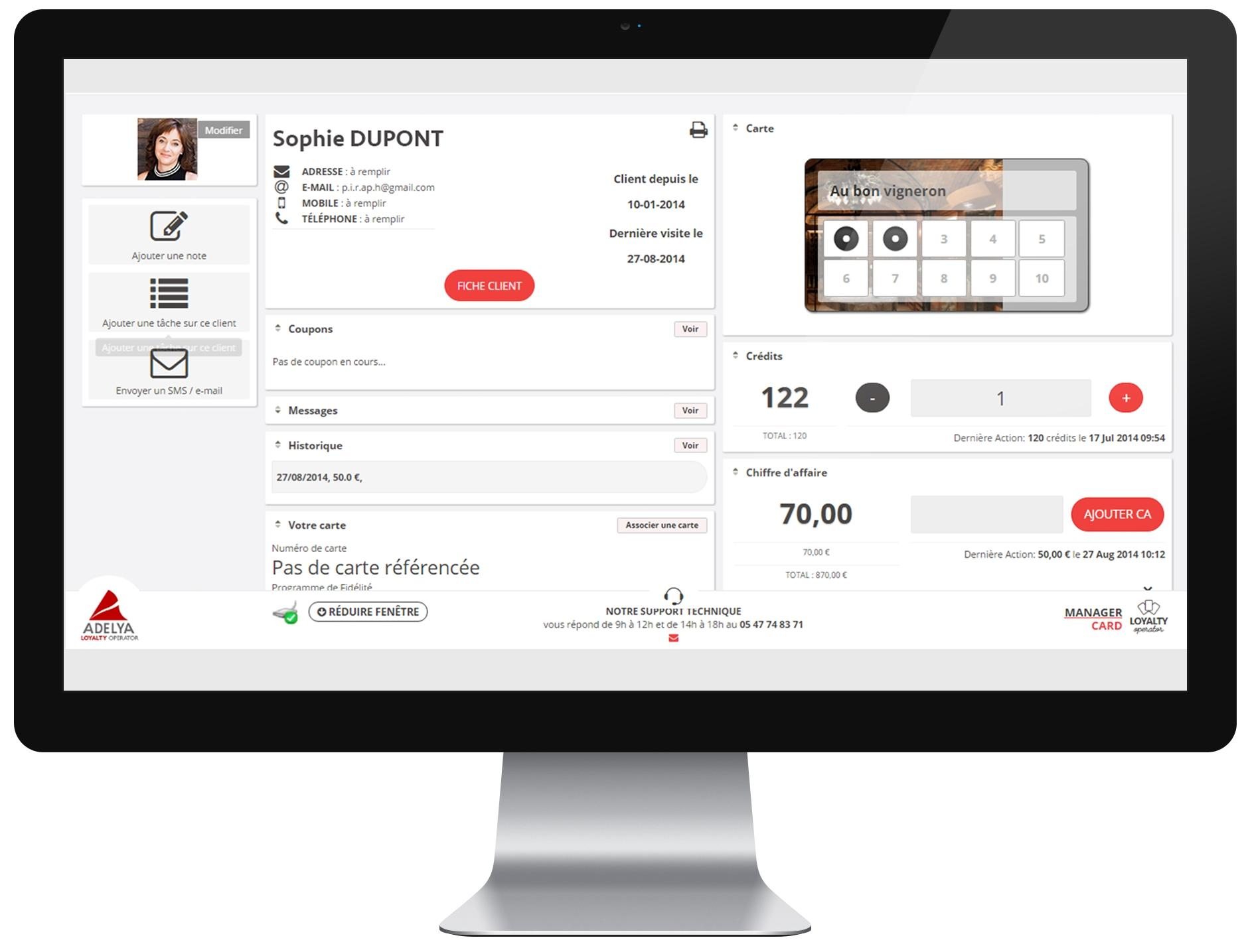 Fiche Client Loyalty Operator