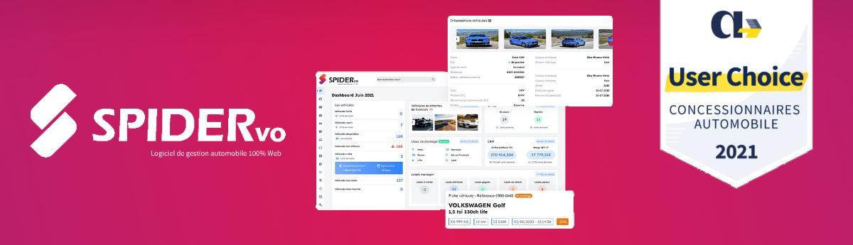 Avis Spider VO : Logiciel 100% Web pour gérer et développer l'activité VO/VN - Appvizer
