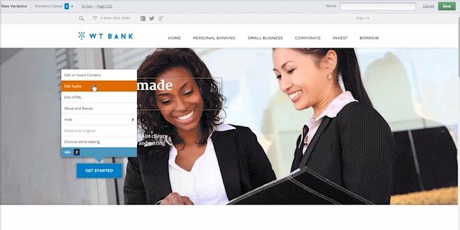 Webtrends: Personnalisation, Expérimentation, Base de savoir (tutoriels, démos)